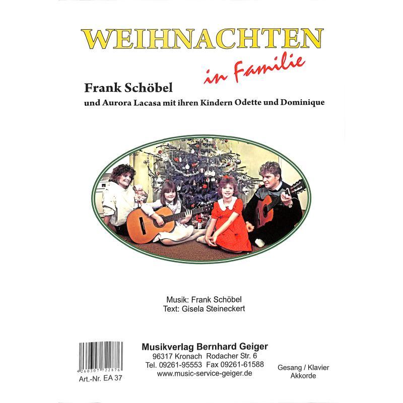 Titelbild für GEIGER -EA37 - Weihnachten in Familie