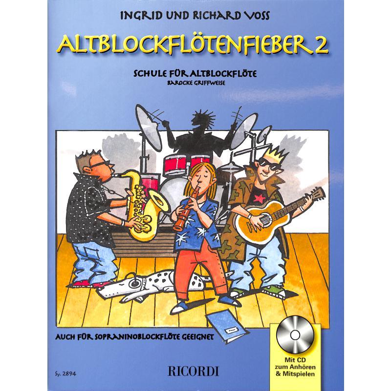 Produktinformationen zu ALTBLOCKFLOETENFIEBER 2 SY 2894