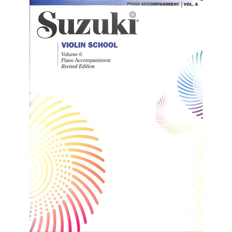 Titelbild für ALF 39268 - Violin school 6 - revised edition