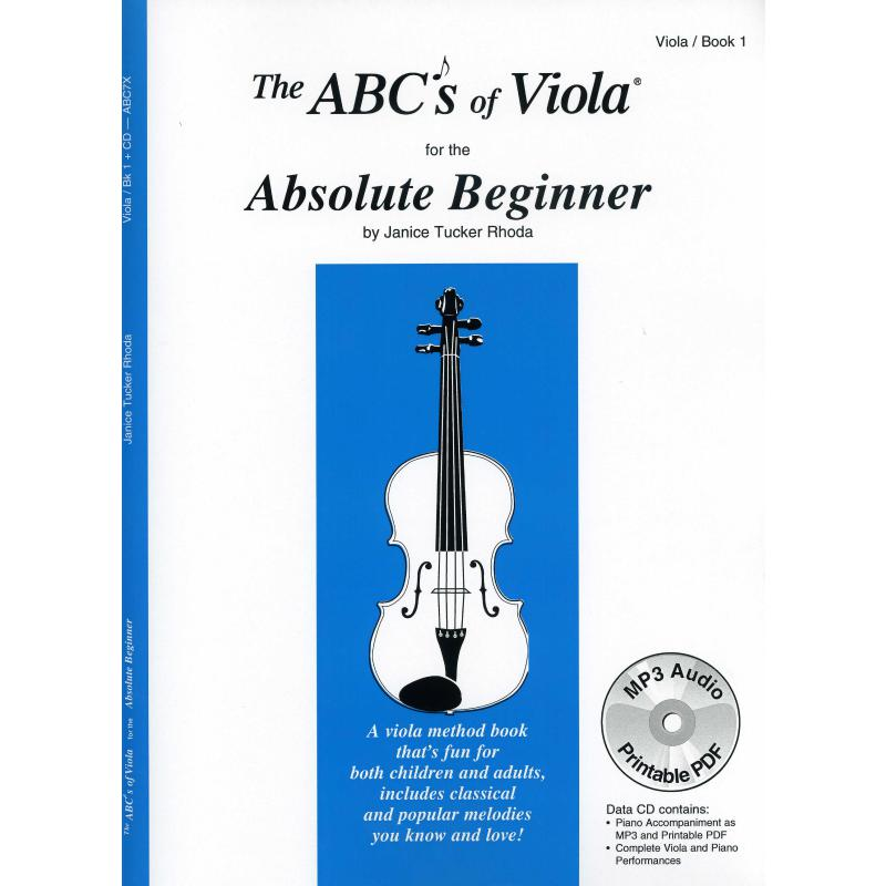 Titelbild für CF -ABC7X - THE ABC'S OF VIOLA FOR THE ABSOLUTE BEGINNER 1