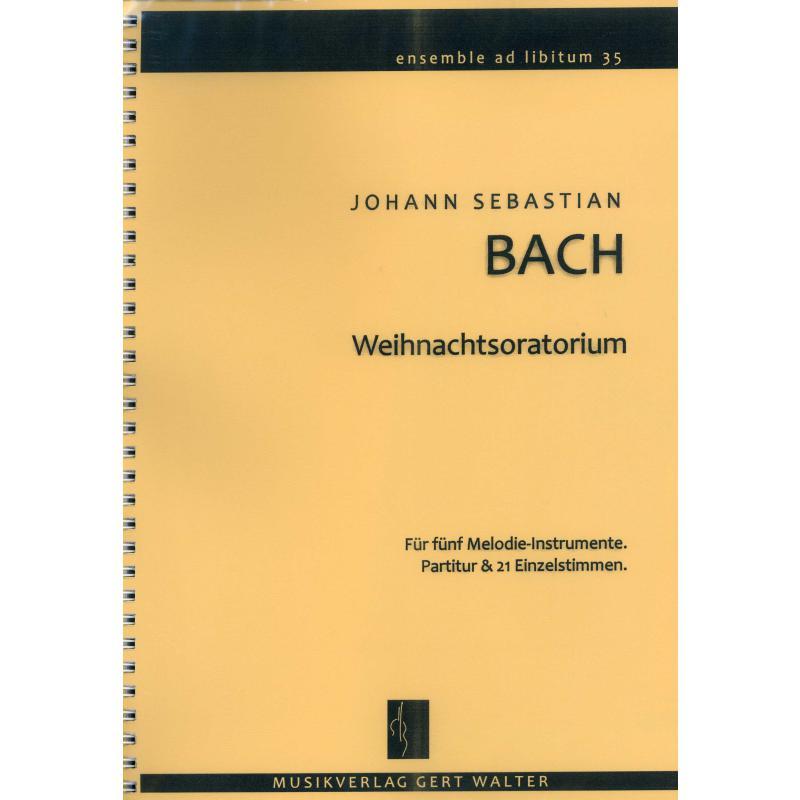 Titelbild für 979-0-700299-54-5 - Weihnachtsoratorium BWV 248