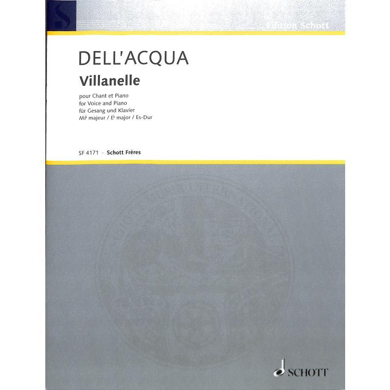 Titelbild für SF 4171 - VILLANELLE ES-DUR