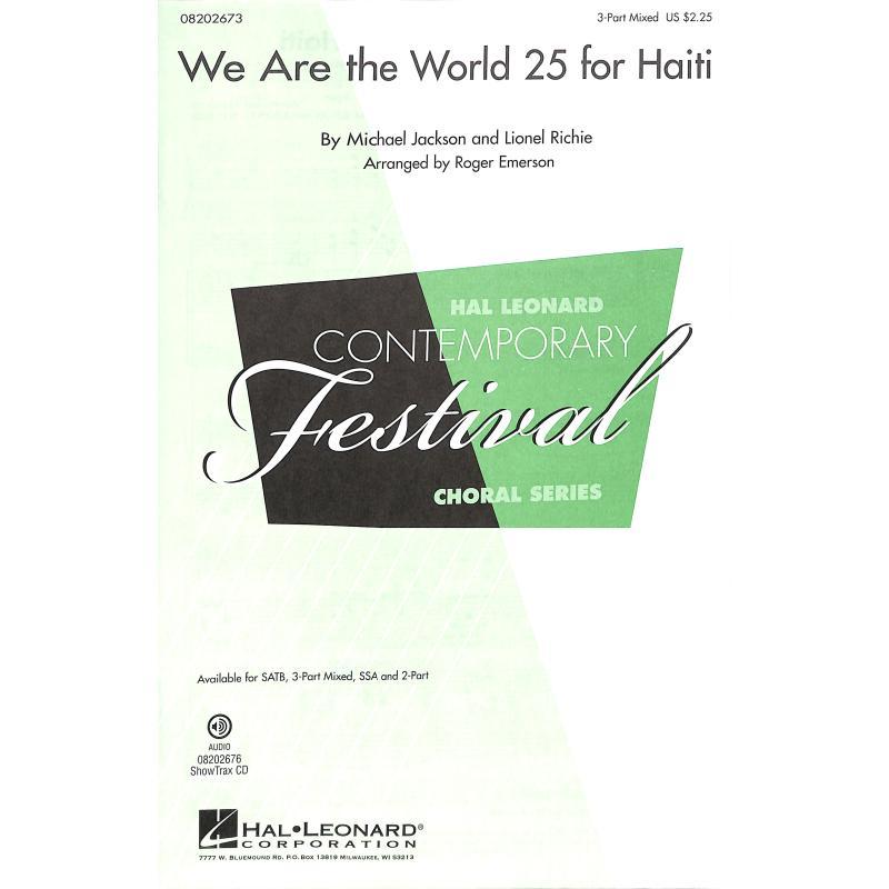 Titelbild für HL 8202673 - We are the world 25 for Haiti