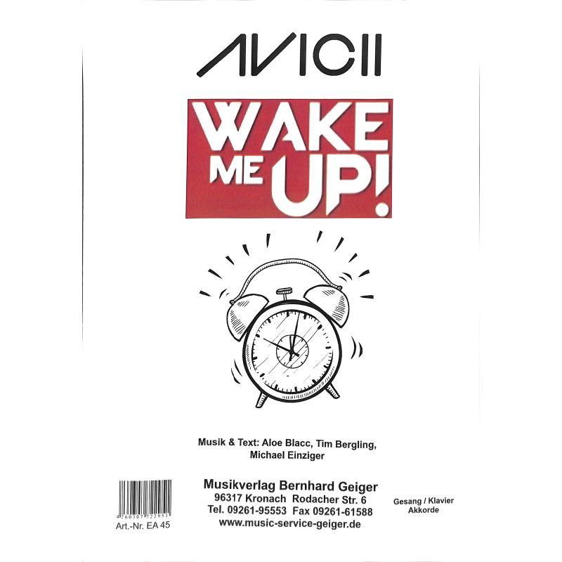 Titelbild für GEIGER -EA45 - Wake me up