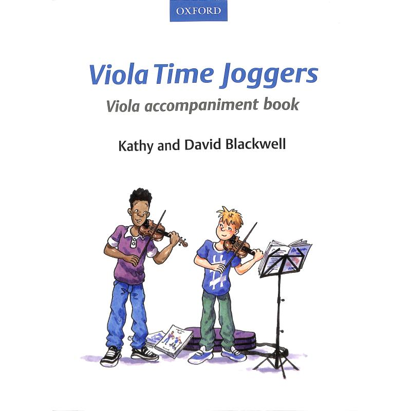 Titelbild für 978-0-19-339855-9 - Viola time joggers 1