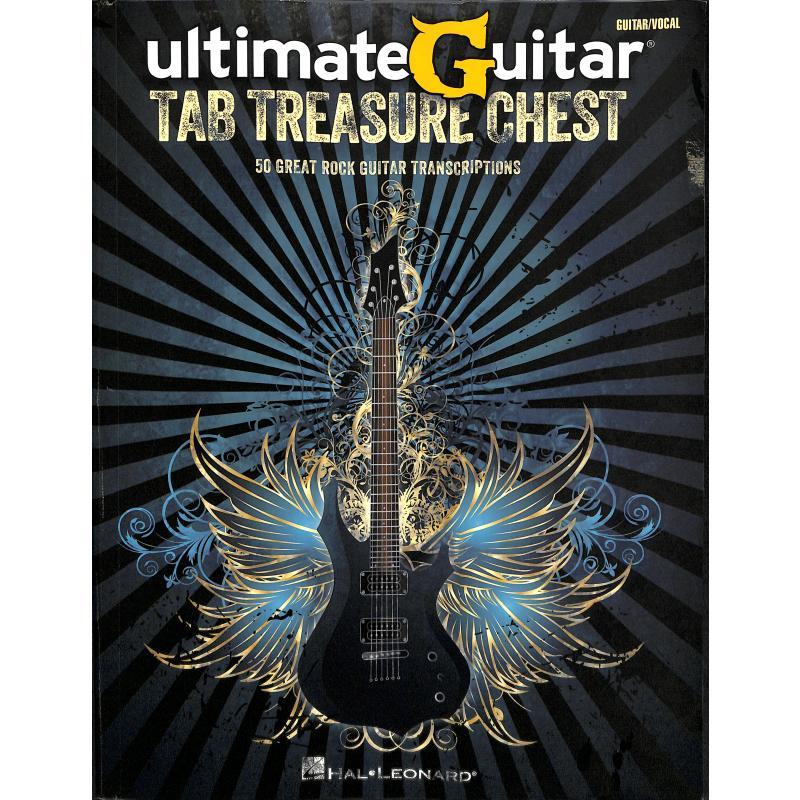 Titelbild für HL 691172 - Ultimate guitar tab treasure chest