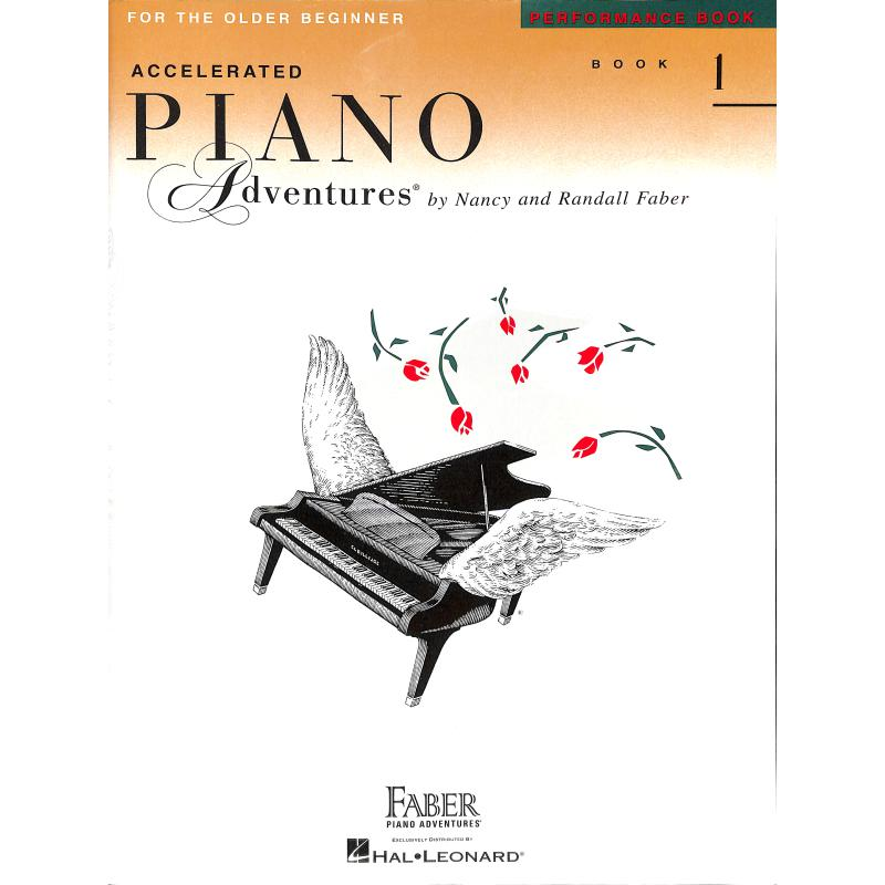 Titelbild für HL 420229 - Accelerated piano adventures 1 - performance book