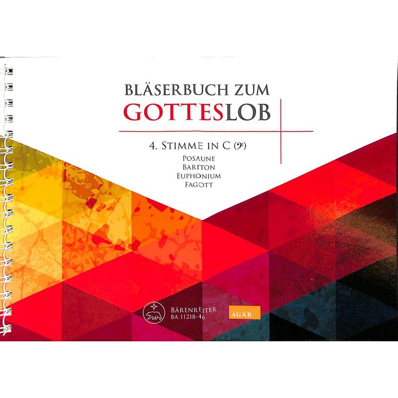 Titelbild für BA 11218-46 - BLAESERBUCH ZUM GOTTESLOB