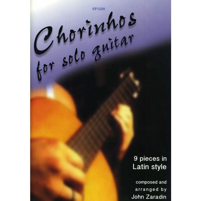 Titelbild für SPARTAN 1238 - Chorinhos for solo guitar