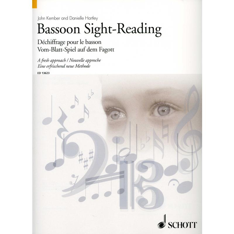Titelbild für ED 13623 - BASSOON SIGHT READING