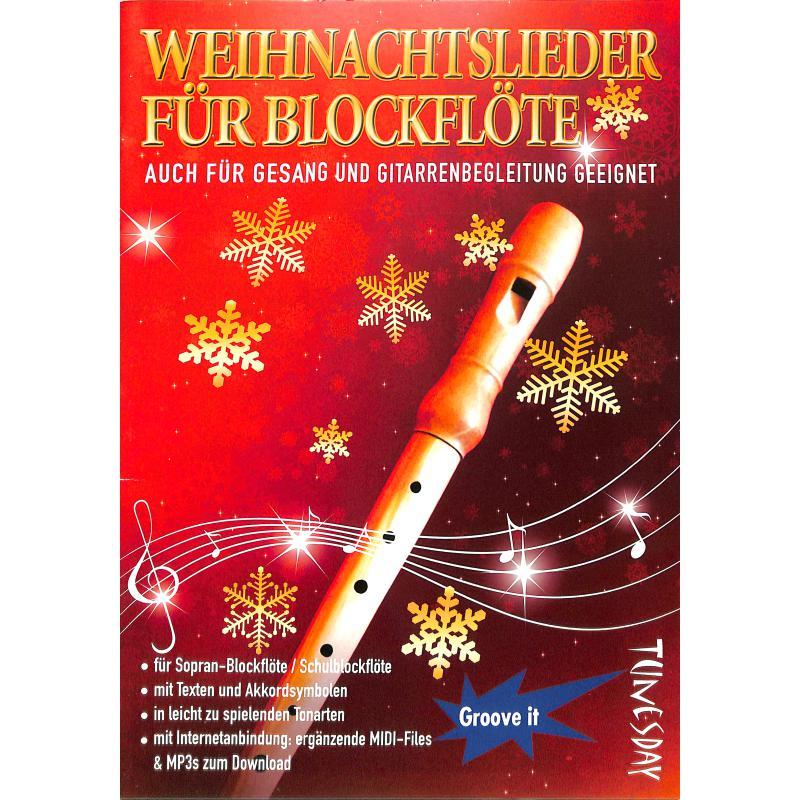 Titelbild für TUN 12 - WEIHNACHTSLIEDER FUER BLOCKFLOETE