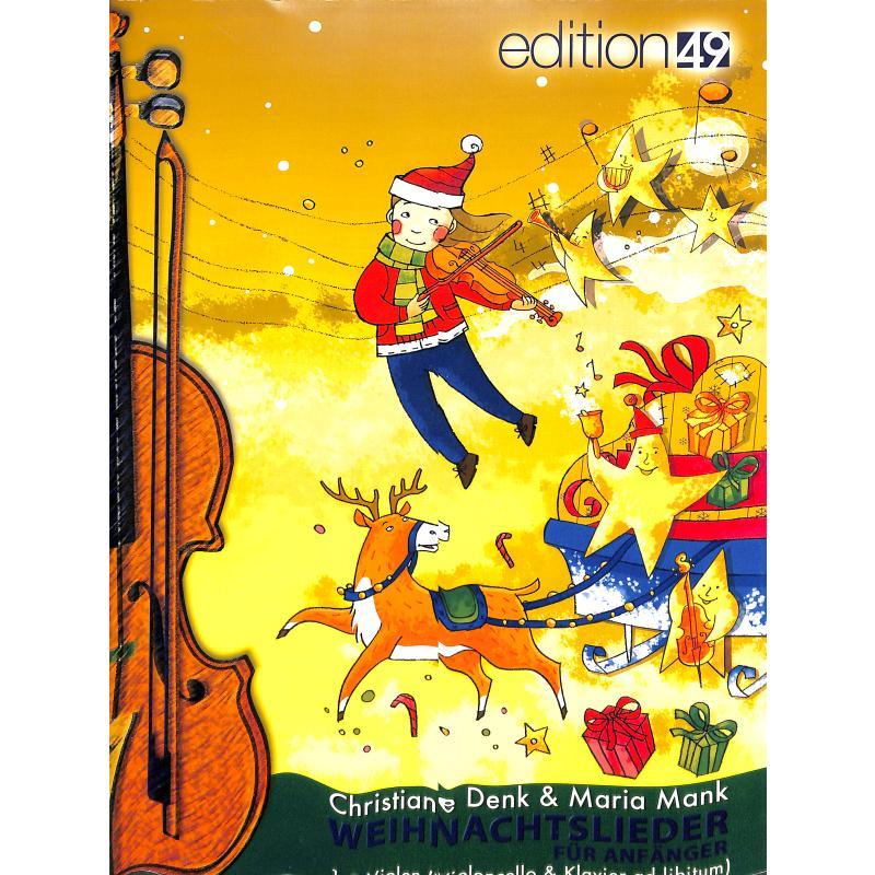 Titelbild für EDIT 09082-00 - Weihnachtslieder für Anfänger
