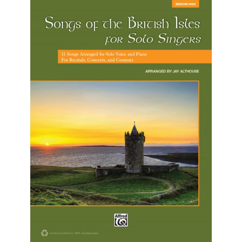 Titelbild für ALF 39749 - Songs of the British Isles for solo singers