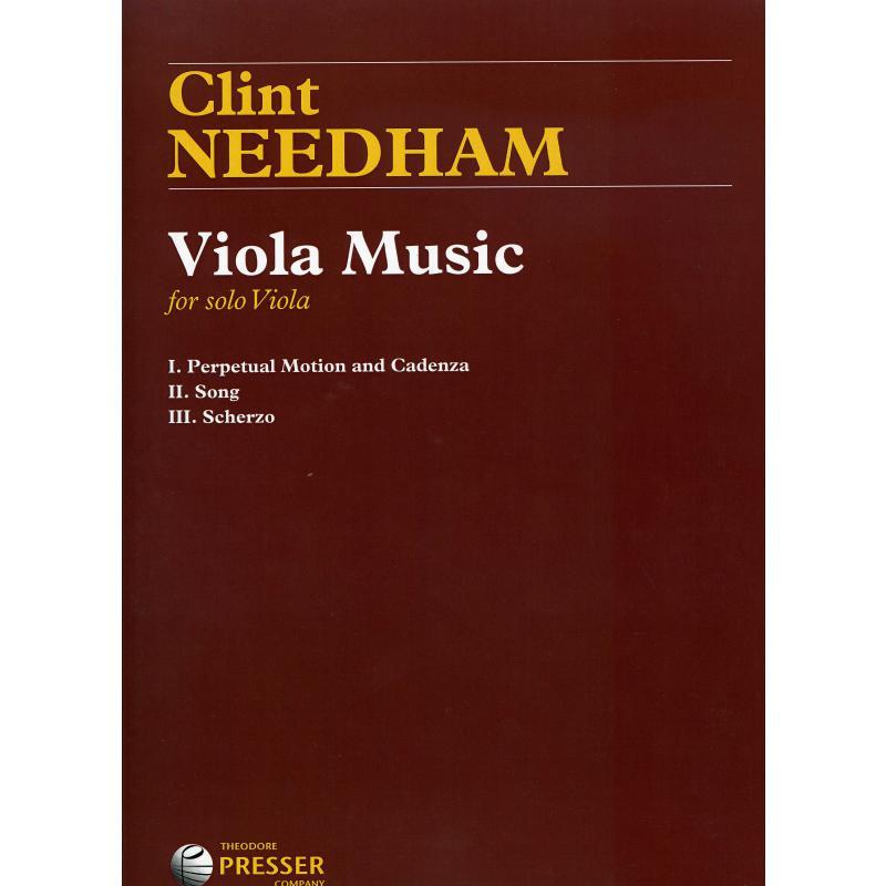 Titelbild für PRESSER 114-41520 - Viola music