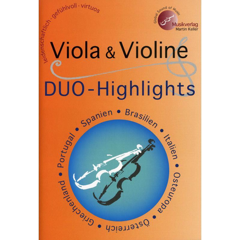 Titelbild für MVK 171710 - Viola + Violine Duo Highlights