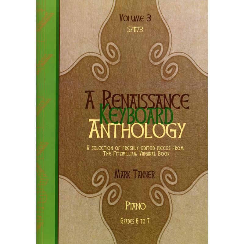 Titelbild für SPARTAN 1173 - A Renaissance keyboard anthology 3