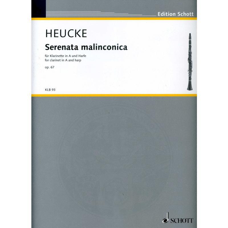 Titelbild für KLB 93 - SERENATA MALINCONICA OP 67