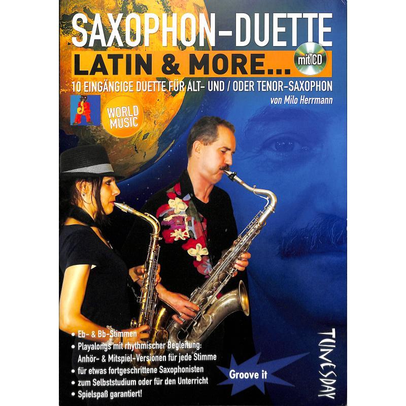 Titelbild für TUN 16 - SAXOPHON DUETTE - LATIN + MORE