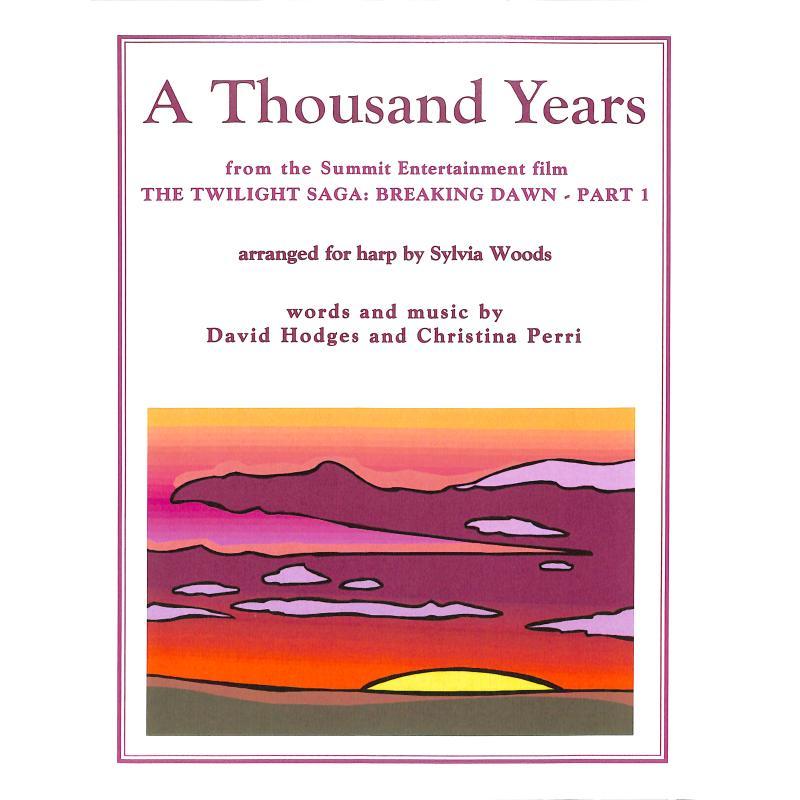 Titelbild für WOODS 5582B - A thousand years