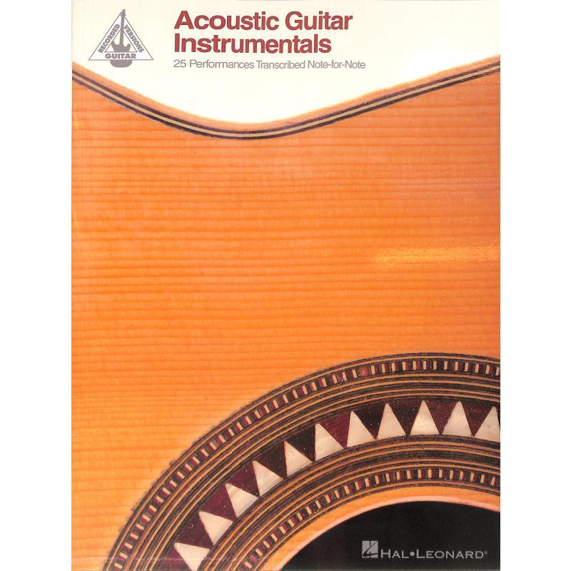 Titelbild für HL 109272 - Acoustic Guitar instrumentals