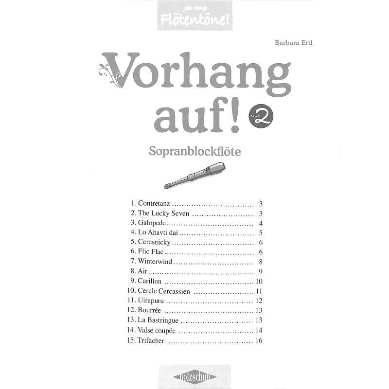 Titelbild für VHR 3626-S - VORHANG AUF 2