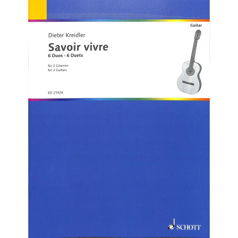 Titelbild für ED 21924 - SAVOIR VIVRE