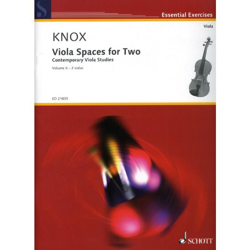 Titelbild für ED 21835 - VIOLA SPACES FOR TWO