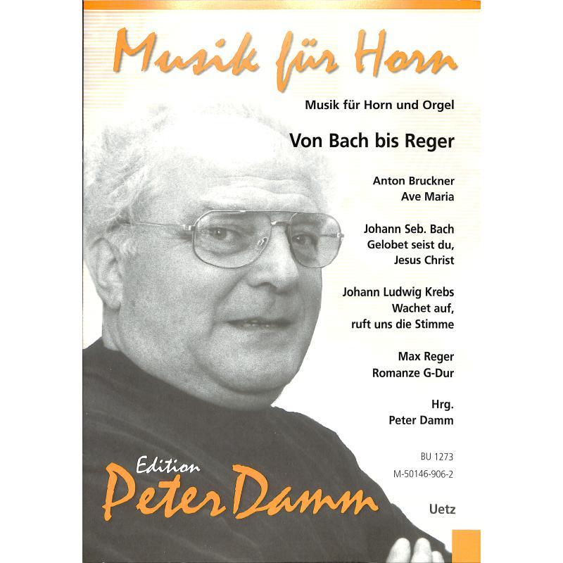 Titelbild für UETZ 1273 - Von Bach bis Reger