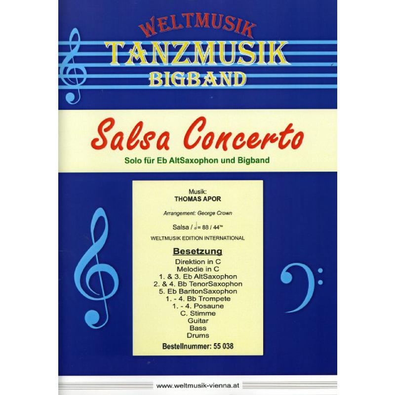 Titelbild für WM 55038 - Salsa Concerto