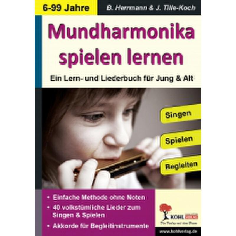 Titelbild für KOHL 11587 - Mundharmonika spielen lernen