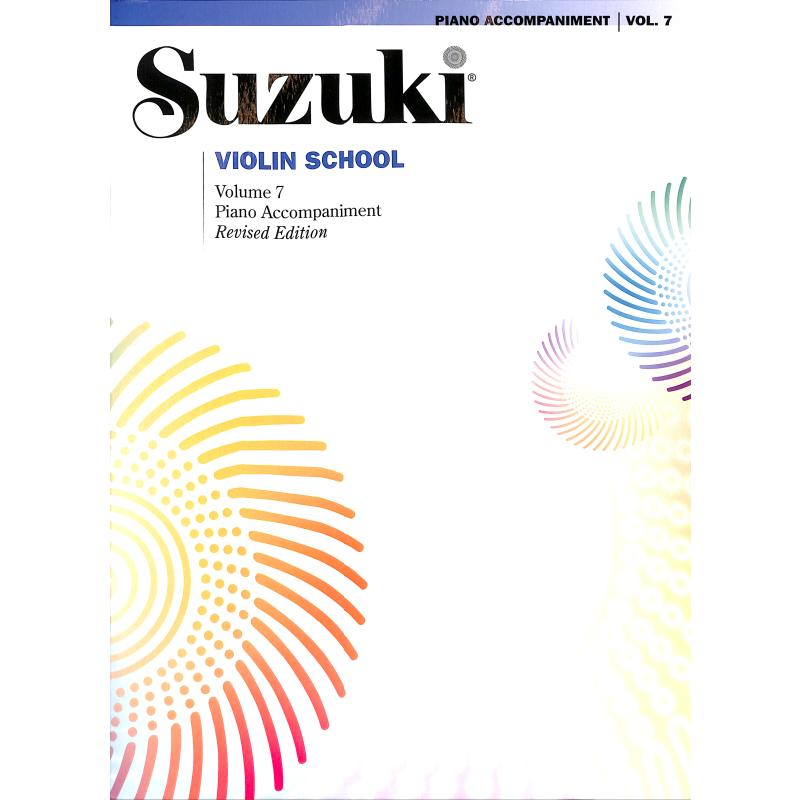 Titelbild für ALF 43018 - Violin school 7 - revised edition