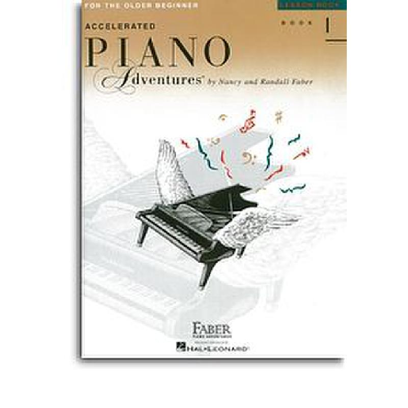 Titelbild für HL 420227 - Accelerated  piano aventures older beginners lesson 1