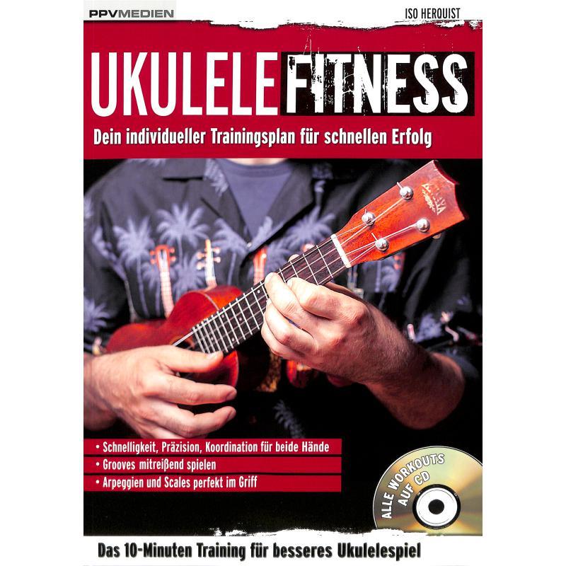 Titelbild für 978-3-95512-095-5 - Ukulele Fitness