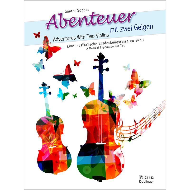 Titelbild für DO 03132 - Abenteuer mit 2 Geigen