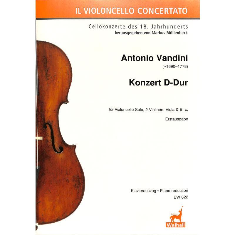 Titelbild für WALHALL 822 - KONZERT D-DUR