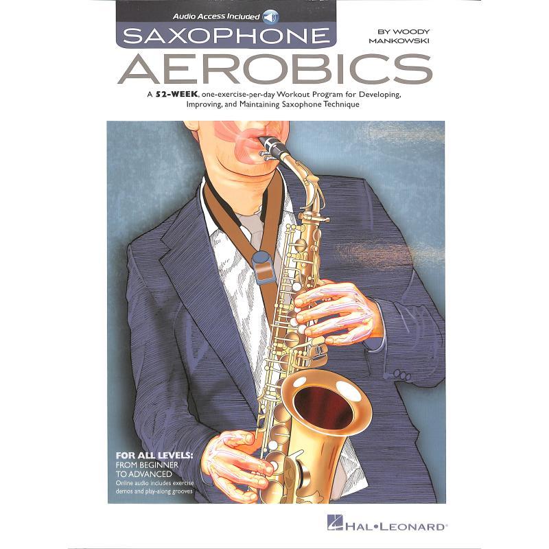 Titelbild für HL 143344 - SAXOPHONE AEROBICS