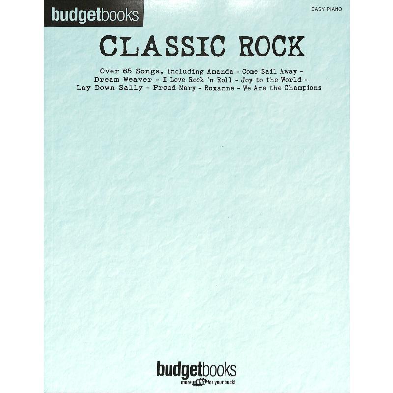 Titelbild für HL 112962 - Budget books - classic Rock