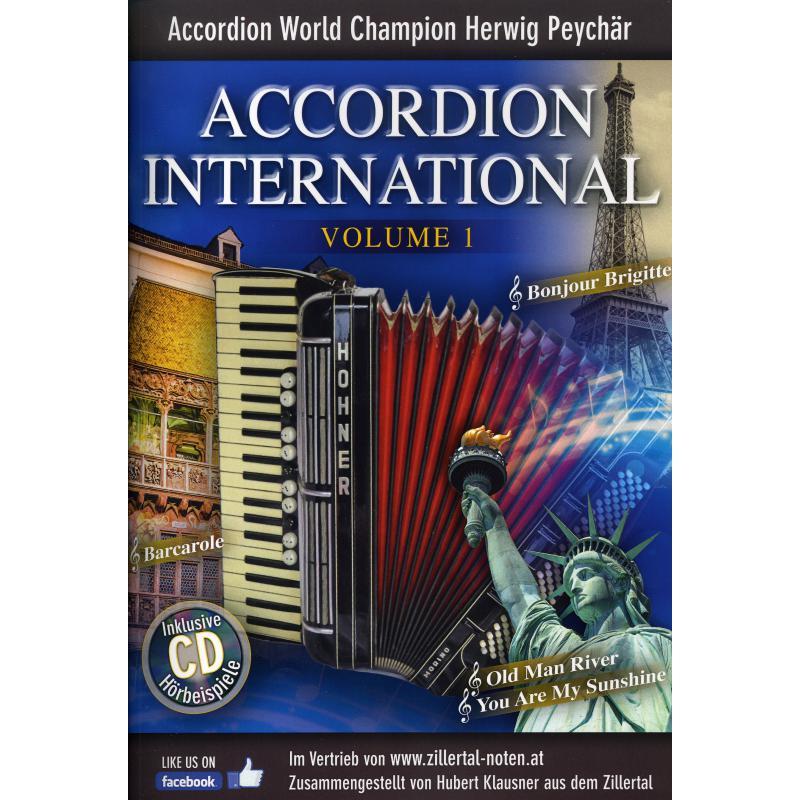 Titelbild für ZILL 20044 - Accordion international 1