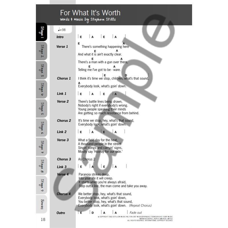 Notenbild für MSAM 1011197 - JUSTINGUITAR.COM BEGINNER'S SONGBOOK 2
