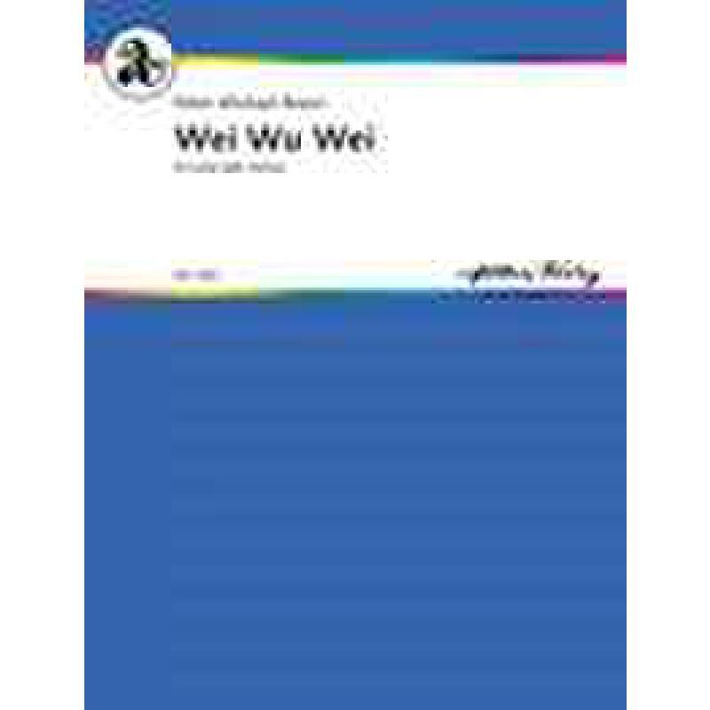 Titelbild für ASTORIA 7420 - Wei wu wei