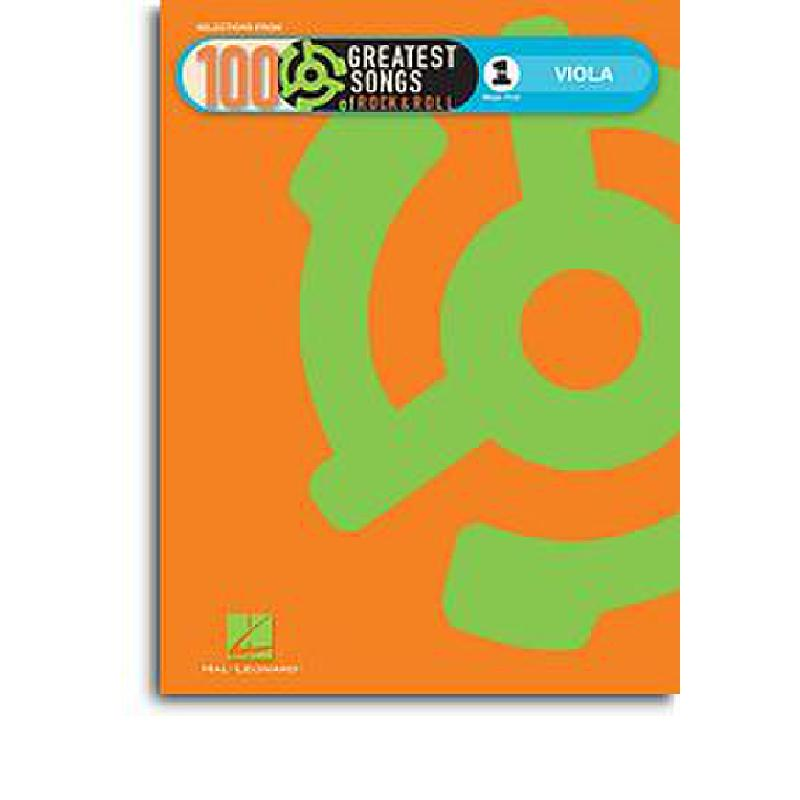 Titelbild für HL 119101 - VH 1'S 100 GREATEST SONGS OF ROCK + ROLL