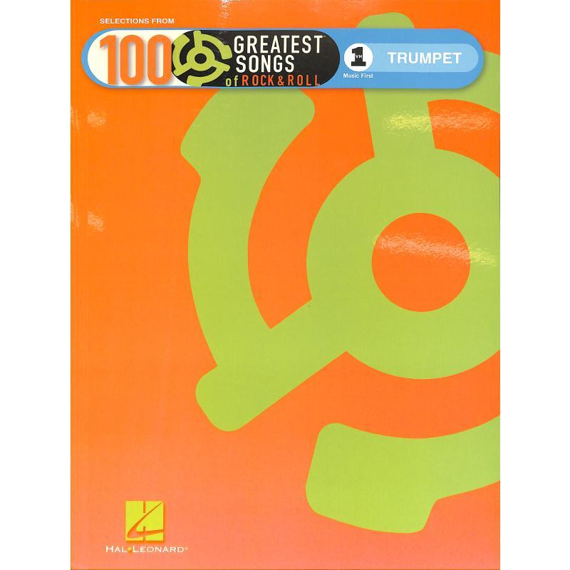 Titelbild für HL 119097 - VH 1'S 100 GREATEST SONGS OF ROCK + ROLL