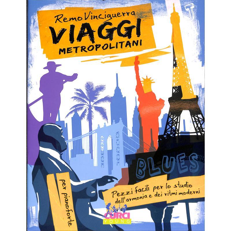 Titelbild für CURCI 11870 - Viaggi metropolitani