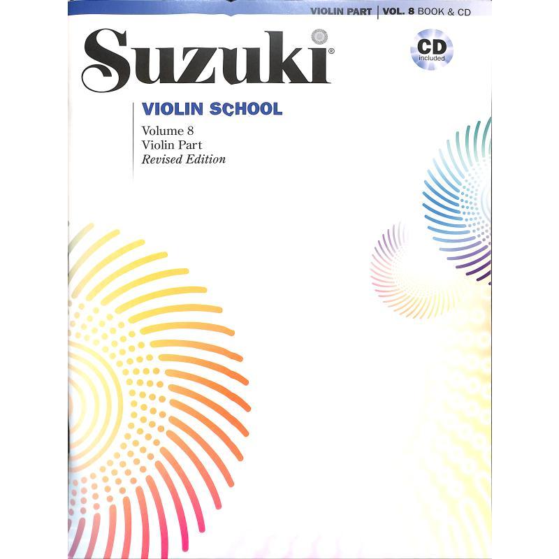 Titelbild für ALF 44720 - Violin school 8 - revised edition