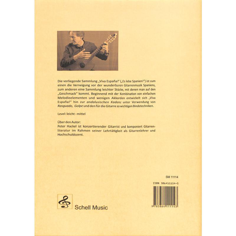 Notenbild für SCHELL 11114 - VIVA ESPANA