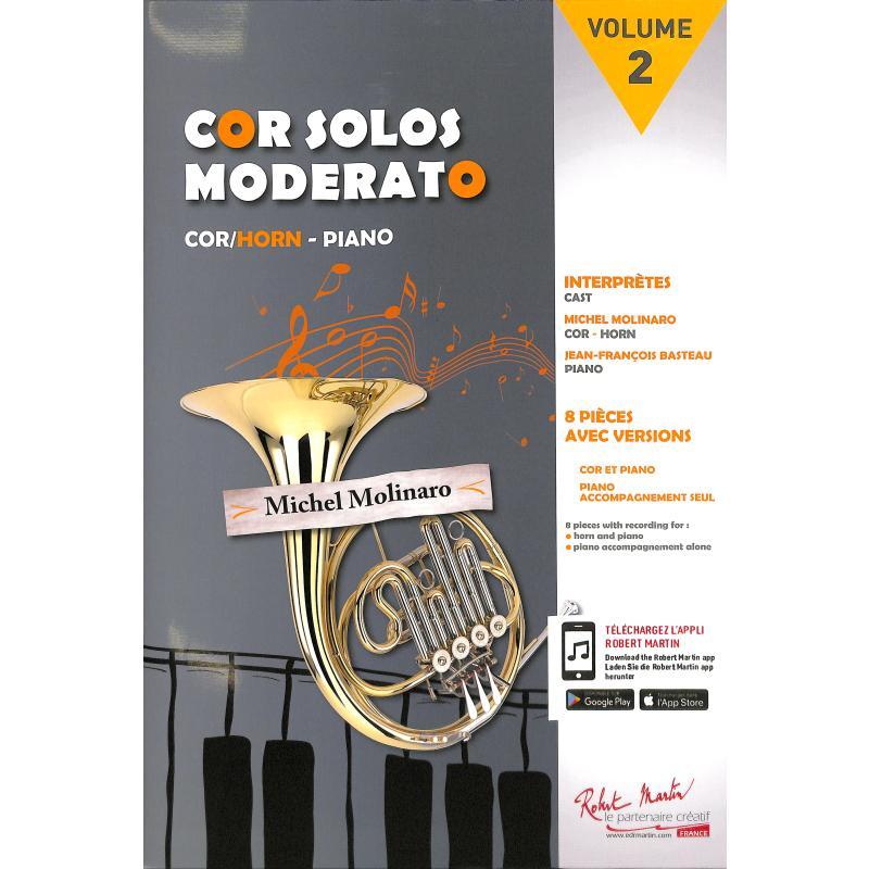Titelbild für MARTIN 5586 - Cor solos 2