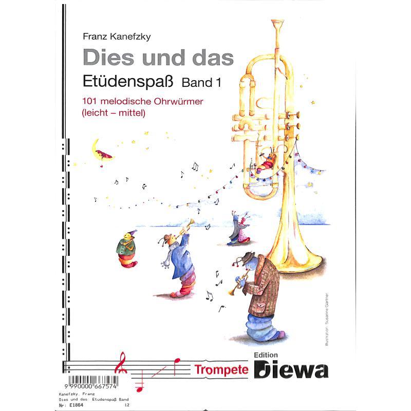 Titelbild für DIEWA 1029 - Dies und das - Etüdenspass 1