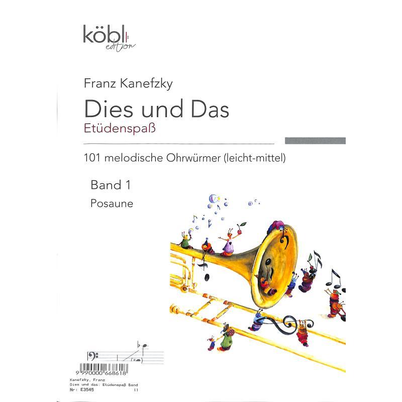 Titelbild für DIEWA 1032 - Dies und das - Etüdenspass 1