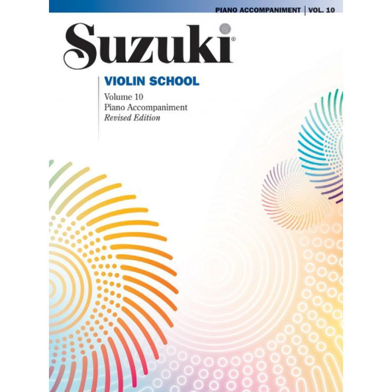 Titelbild für ALF 44059 - Violin school 10 - revised edition