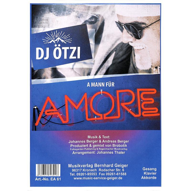 Titelbild für GEIGER -EA61 - A Mann für Amore
